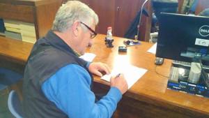 Petición alcalde