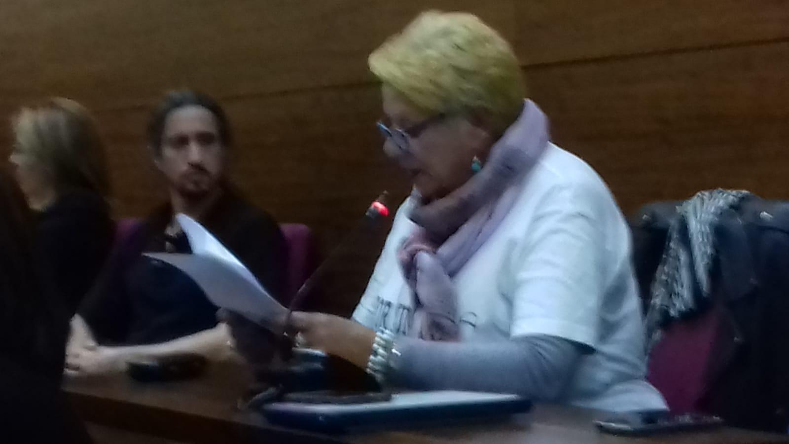 Texto íntegro de la intervención en el pleno del 28 de marzo, por nuestra portavoz Pepi Garcí