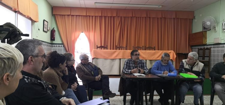 Reunión informativa con los vecinos de San Fernando